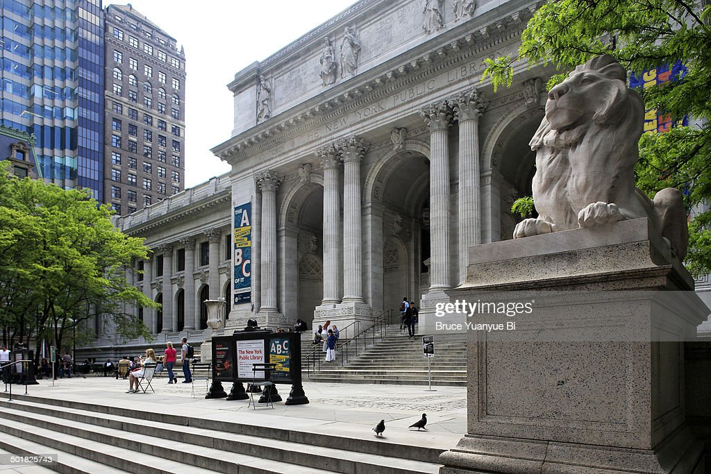 New York Public Library main branch building