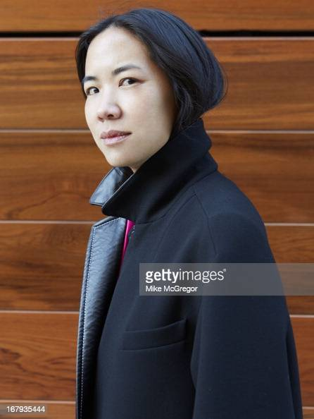 New York publicist for Balenciaga Cynthia Leung is photographed for on February 21 2013 in New York City