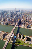 New York's Queensboro Bridge Aerial Photo, also known as the 59th Street Bridge – because its Manhattan end is located between 59th and 60th Streets – and officially titled the Ed Koch Queensboro Brid