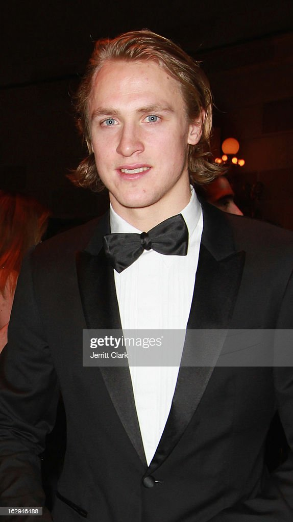New York Rangers <a gi-track='captionPersonalityLinkClicked' href=/galleries/search?phrase=Carl+Hagelin&family=editorial&specificpeople=4465394 ng-click='$event.stopPropagation()'>Carl Hagelin</a> attends the 2013 New York Rangers Casino Night at Gotham Hall on March 1, 2013 in New York City.