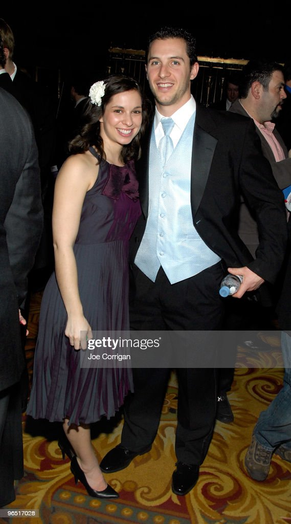New York Rangers forward Ryan Callahan and girlfriend Kyla Allison attend casino night to benefit the Garden Of Dreams Foundation at Gotham Hall on February 8, 2010 in New York City.
