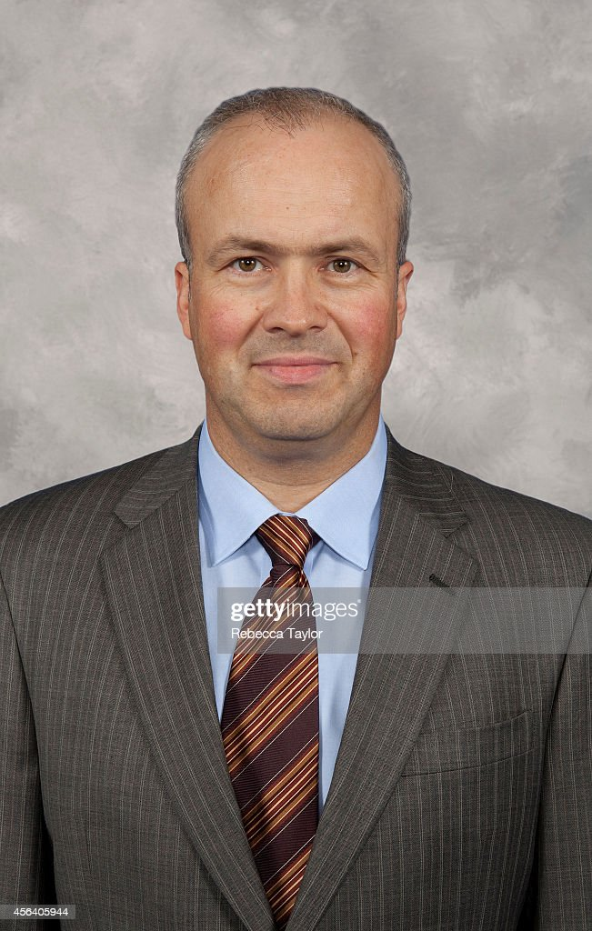 New York Rangers Goaltending and Assistant Coach Benoit Allaire poses for a headshot at the MSG Training Center on September 5, 2009 in Tarrytown, New York.