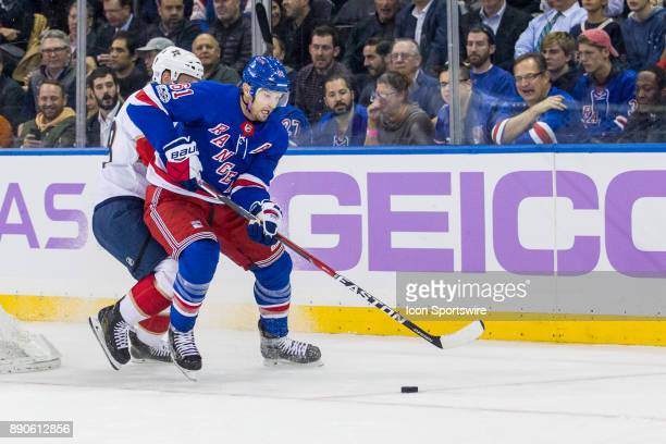 New York Rangers Left Wing Rick Nash in action during the first period of a regular season NHL game between the Florida Panthers and the New York...