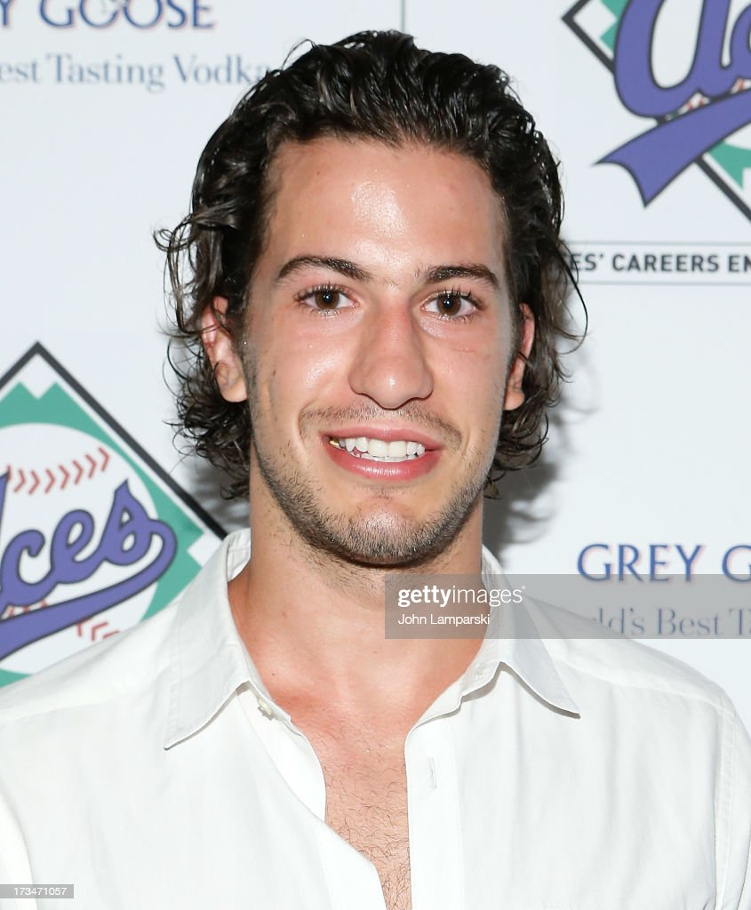 New York Rangers <a gi-track='captionPersonalityLinkClicked' href=/galleries/search?phrase=Michael+Del+Zotto&family=editorial&specificpeople=4044191 ng-click='$event.stopPropagation()'>Michael Del Zotto</a> attends ACES Annual All Star Party at Marquee on July 14, 2013 in New York City.