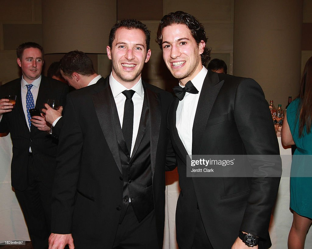 New York Rangers <a gi-track='captionPersonalityLinkClicked' href=/galleries/search?phrase=Ryan+Callahan&family=editorial&specificpeople=809690 ng-click='$event.stopPropagation()'>Ryan Callahan</a> and <a gi-track='captionPersonalityLinkClicked' href=/galleries/search?phrase=Michael+Del+Zotto&family=editorial&specificpeople=4044191 ng-click='$event.stopPropagation()'>Michael Del Zotto</a> attends the 2013 New York Rangers Casino Night at Gotham Hall on March 1, 2013 in New York City.
