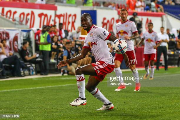 New York Red Bulls forward Bradley WrightPhillips during the Major League Soccer game between the San Jose Earthquakes and the New York Red Bulls on...