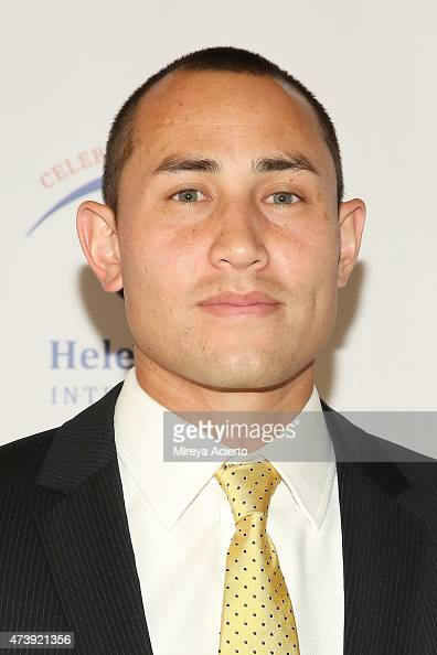 New York Red Bulls Luis Robles attends the 2015 Spirit of Helen Keller Gala at The New York Public Library on May 18 2015 in New York City