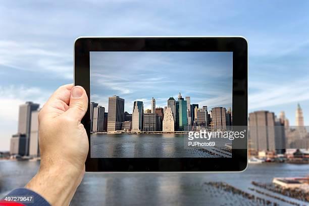 New York-Vue sur le centre-ville de Brooklyn