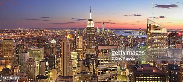 De la ciudad de Nueva York Panorama
