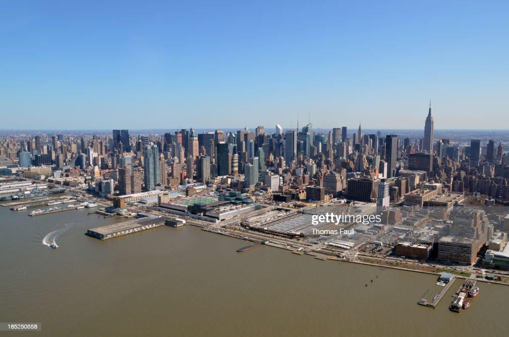 New Yorker Hafen Stock Fotos Und Bilder Getty Images New York City Night  Panorama View From