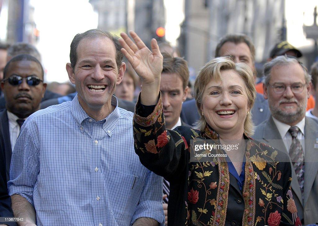 Senator Hillary Rodham Clinton, Andrew Cuomo and New York State Attorney