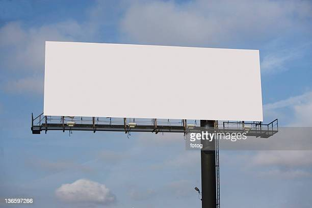 USA, New York State, Blank billboard