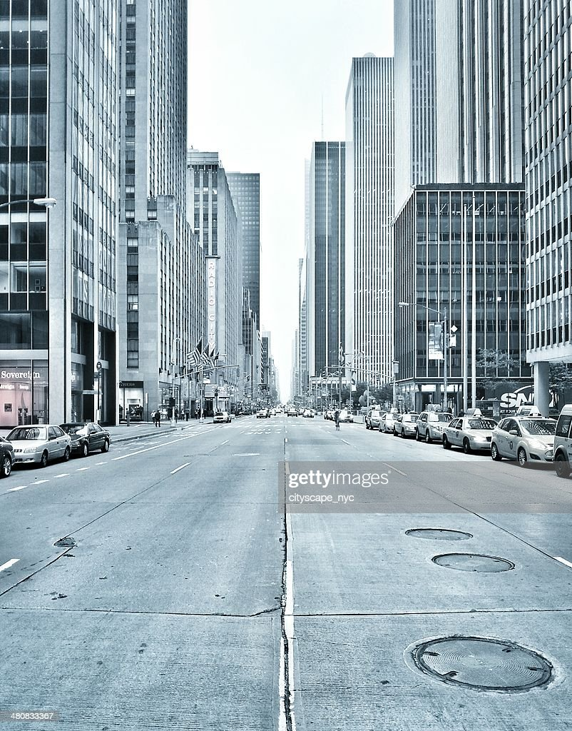 États-Unis, État de New York, New York City, de l'Avenue des Amériques : Photo