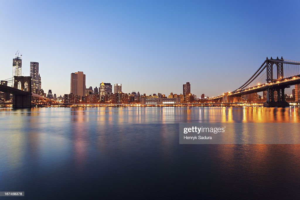 USA, New York State, New York City, cityscape : Stock Photo