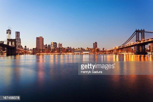 USA, New York State, New York City, cityscape : Stock Photo