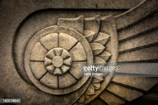 USA, New York State, New York City, Close-up of architectural detail