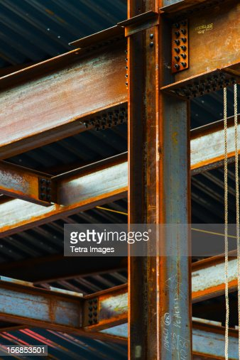 USA, New York State, New York City, Construction frame