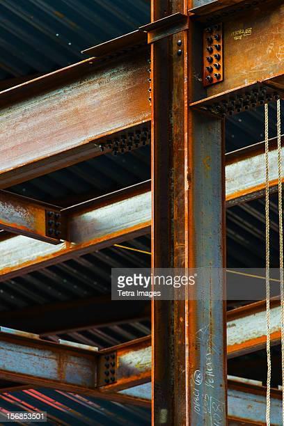 USA, New York State, New York City, Construction frame