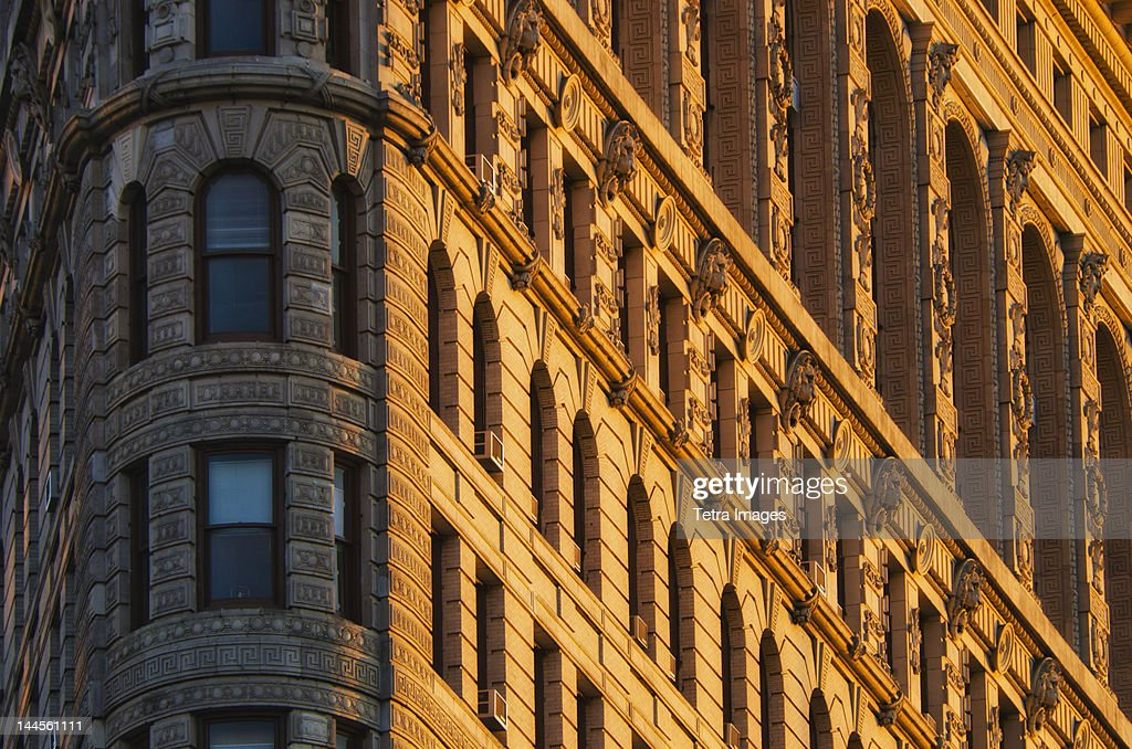 USA, New York State, New York City, Flatiron Building