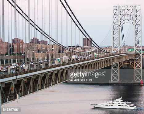 USA, New York State, New York City, George Washington Bridge