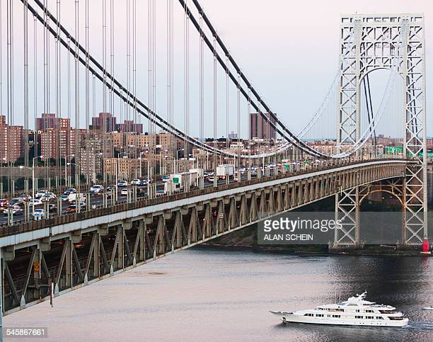 USA, New York State, New York City, George Washington Bridge