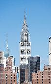 USA, New York State, New York City, Manhattan, Chrysler Building