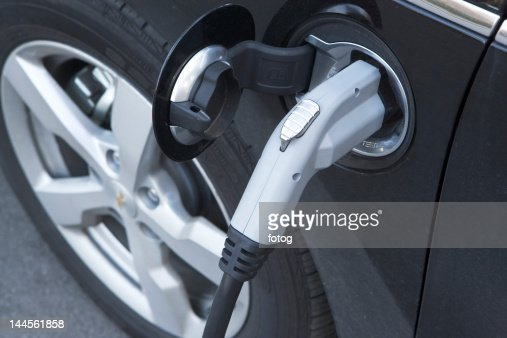 USA, New York State, New York City, part of electric car