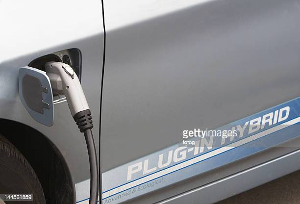 USA, New York State, New York City,  part of hybrid vehicle
