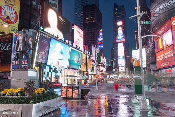USA, New York State, New York City, Time Square at night
