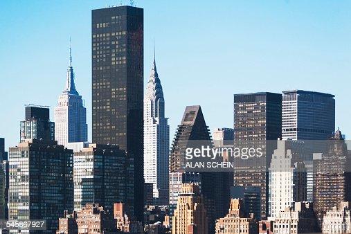 Usa New York State New York City View Of Trump Tower Stock