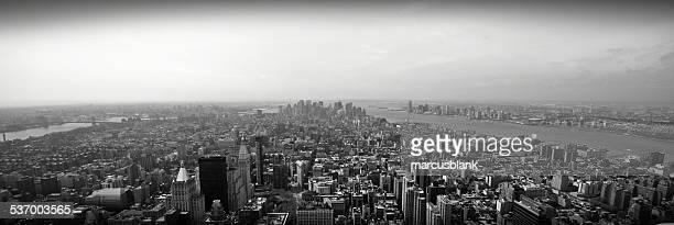 USA, New York State, New York, Manhattan, Aerial view of city