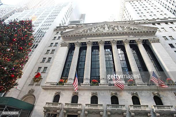 New York Stock Exchange Weihnachten