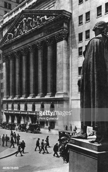 New York Stock Exchange New York City USA c1930s The largest stock exhange in the world the New York Stock Exchange was founded in 1792 when 24...