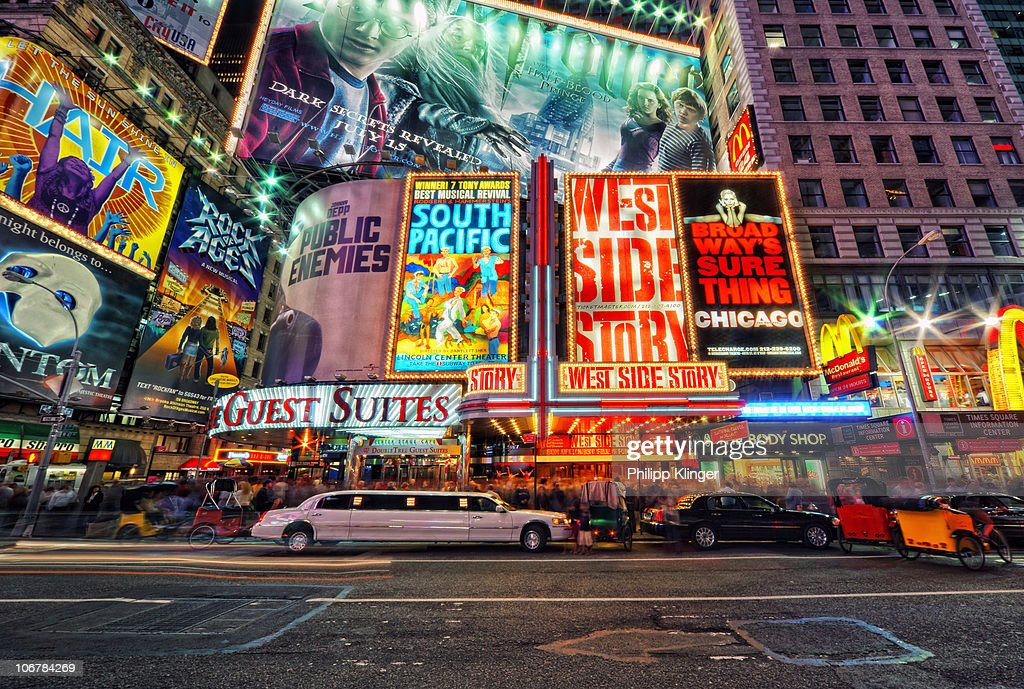 New York street scene : Stock Photo