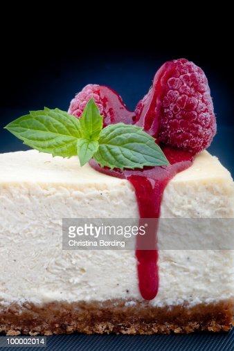 New York Style Cheesecake : Stock Photo