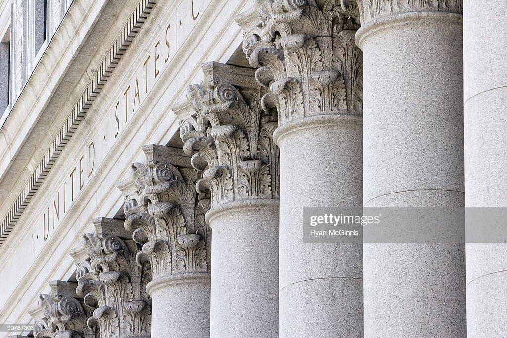 New York Supreme Court Pillars