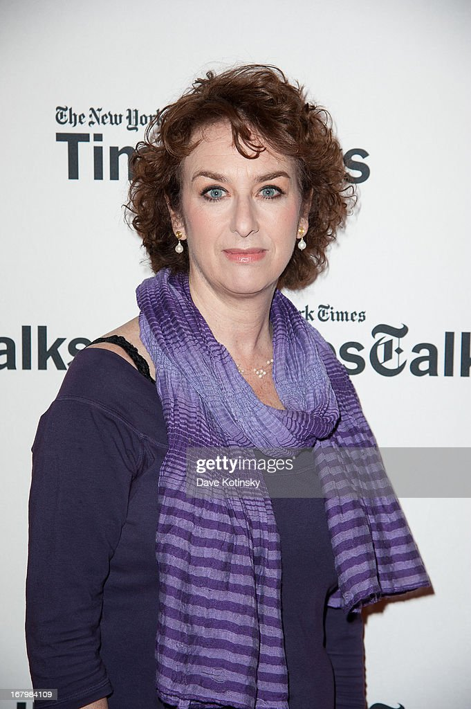 New York Times culture reporter Patricia Cohen attends TimeTalks Presents: Freedom and Moral Courage Salman Rushdie and Ai Wei Wei at Times Center on May 3, 2013 in New York City.
