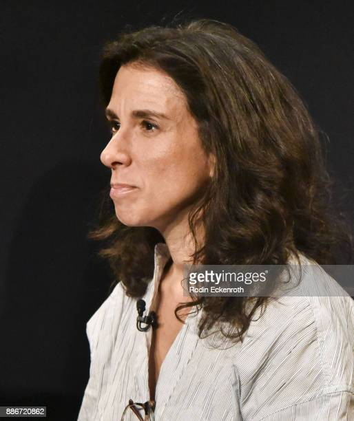 New York Times journalist Jodi Kantor speaks onstage at The Paley Center for Media on December 5 2017 in Beverly Hills California