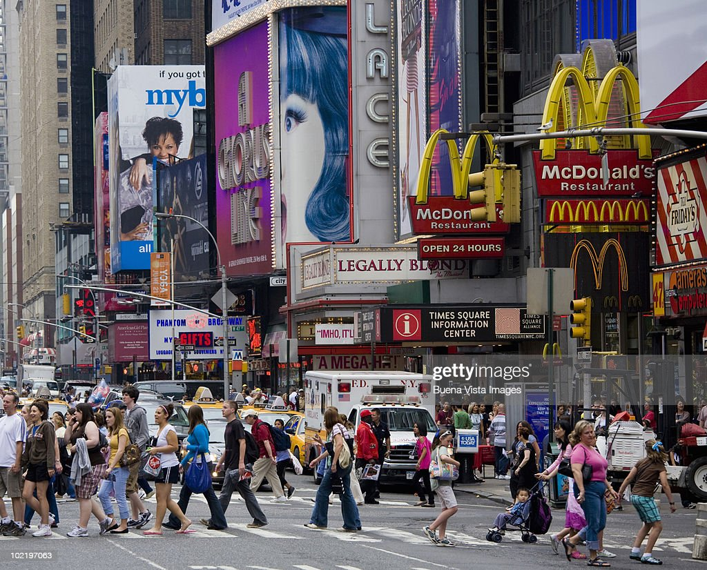 New York, Times Square. : Stock Photo