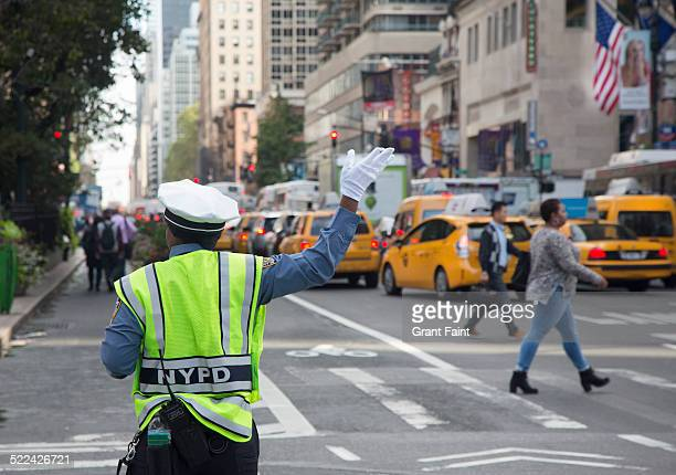 New York traffic cop