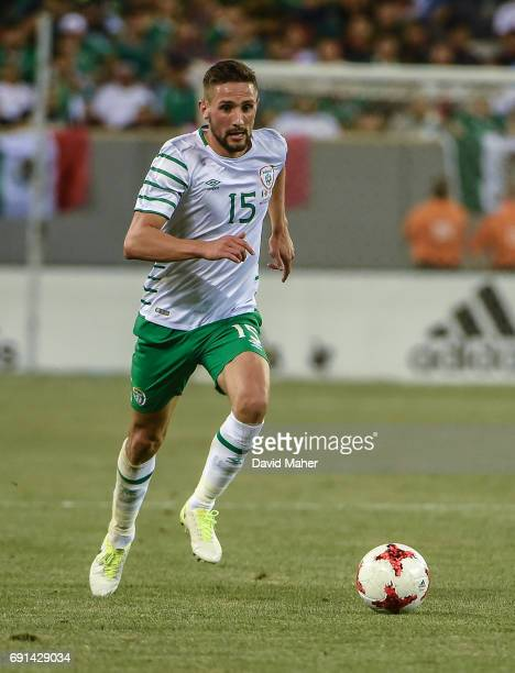 New York United States 1 June 2017 Conor Hourihane of Republic of Ireland in action during the International Friendly match between Republic of...