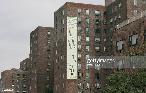 New york real estate stock photos and pictures getty images for Peter cooper village rent