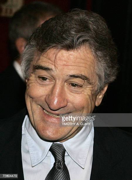 Actor/director Robert De Niro attends the World Premiere of 'The Good Shepherd' presented by Universal Pictures at the Ziegfeld Theatre on 11...
