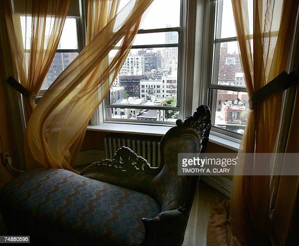 TO GO WITH STORY BY LUIS TORRES DE LA LLOSA The room where pop star Madonna lived after coming to New York in the early 80's at the Hotel Chelsea in...