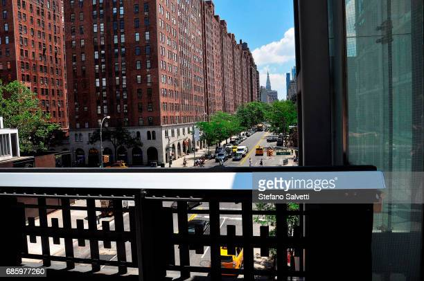 USA, New York, view from High Line