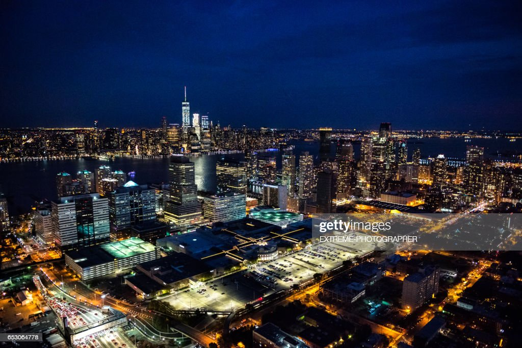 New York viewed from New Jersey : Photo
