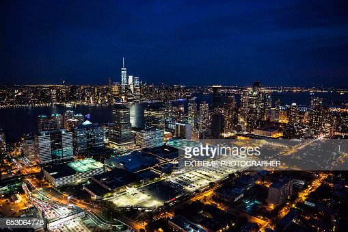 New York viewed from New Jersey : Stock-Foto