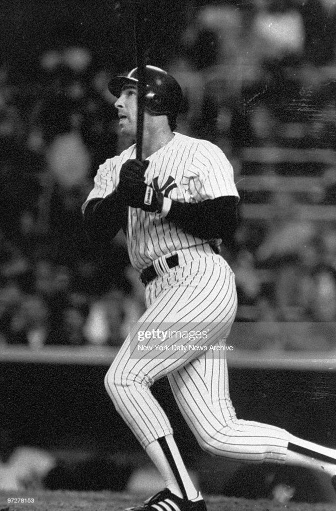 New York Yankee Jack Clark smashed a homerun