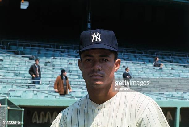 New York Yankee Roy White at Yankee Stadium
