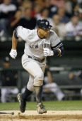 New York Yankees' 3rd Baseman Alex Rodriguez runs out a single during their game versus the Chicago White Sox June 6 2007 at US Cellular Field in...